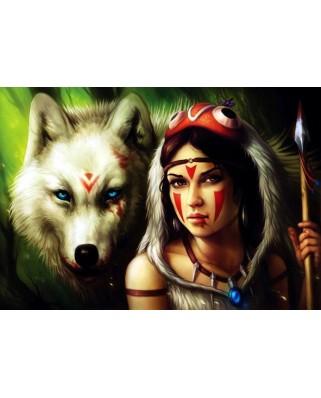 Puzzle Anatolian - Warrior Princess, 500 piese (3600)
