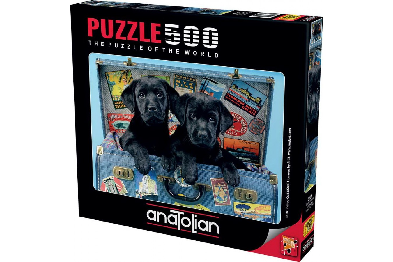 Puzzle Anatolian - Travel Labs, 500 piese (3601)