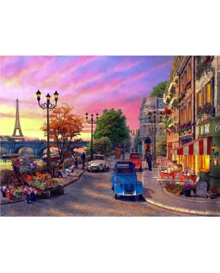 Puzzle Anatolian - Seine Sunset, 1000 piese (1004)