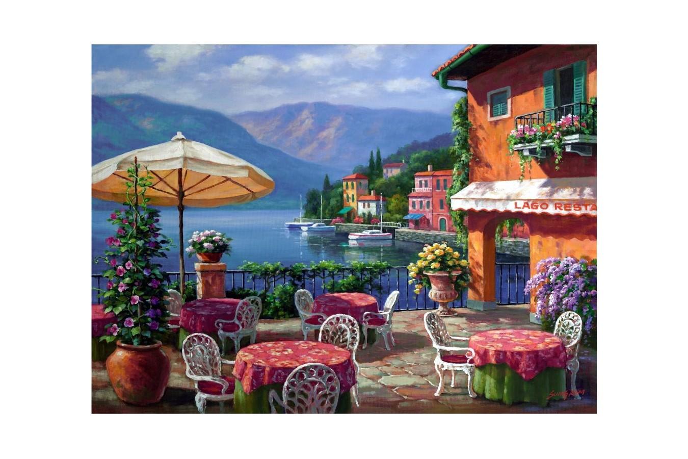Puzzle Anatolian - Lago Cafe, 1000 piese (1005)