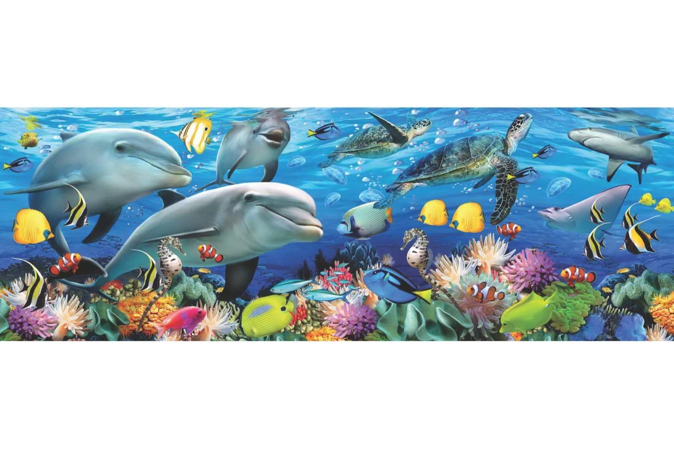 Puzzle Anatolian - Undersea, 1000 piese, panoramic (1009)