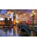 Puzzle Anatolian - Westminster Sunset, 1000 piese (1023)