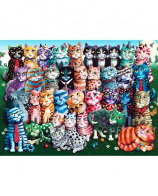 Puzzle Anatolian - Cat Family Reunion, 1000 piese (1030)