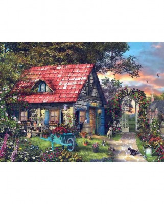 Puzzle Anatolian - Country Shed, 1000 piese (1032)