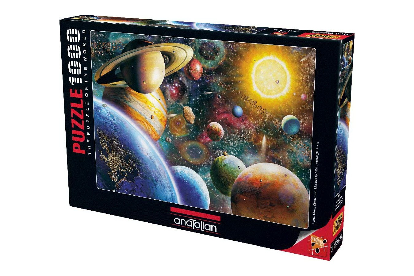 Puzzle Anatolian - Planets in Space, 1000 piese (1033)