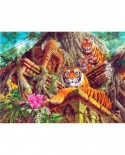 Puzzle Anatolian - Temple Tigers, 1000 piese (1034)