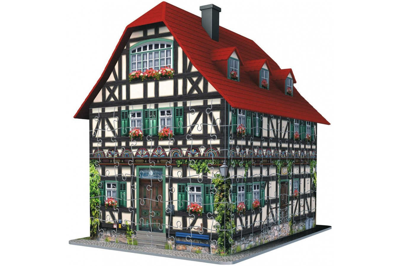 Puzzle 3D Ravensburger - Casa Medievala, 216 piese (12572)