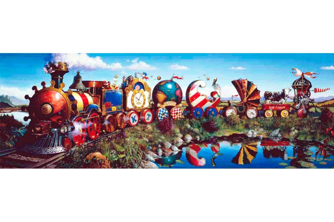 Puzzle Anatolian - Story Train, 1000 piese, panoramic (1039)