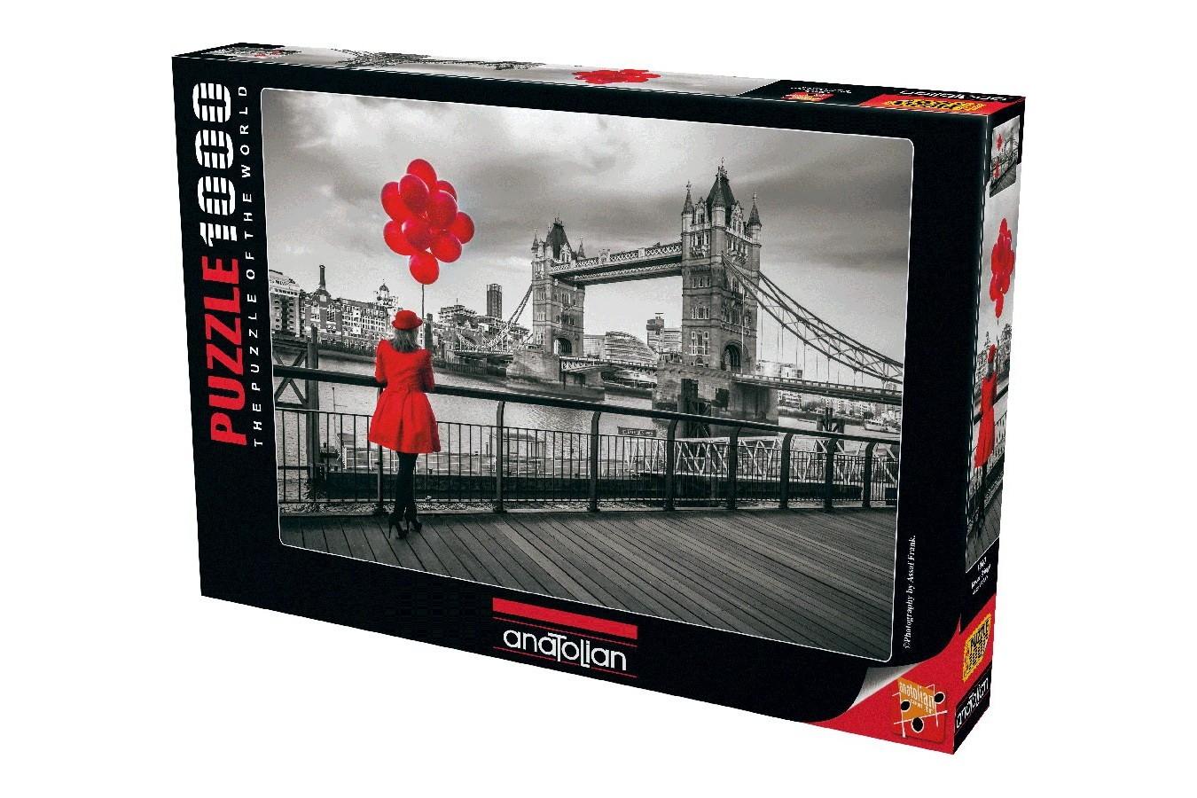 Puzzle Anatolian - Tower Bridge, 1000 piese (1040)