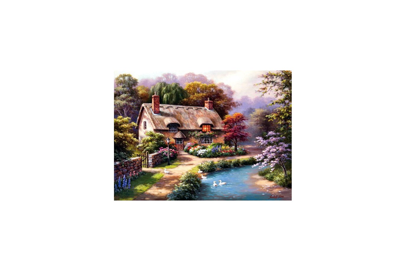 Puzzle Anatolian - Duck Path Cottage, 1000 piese (1047)