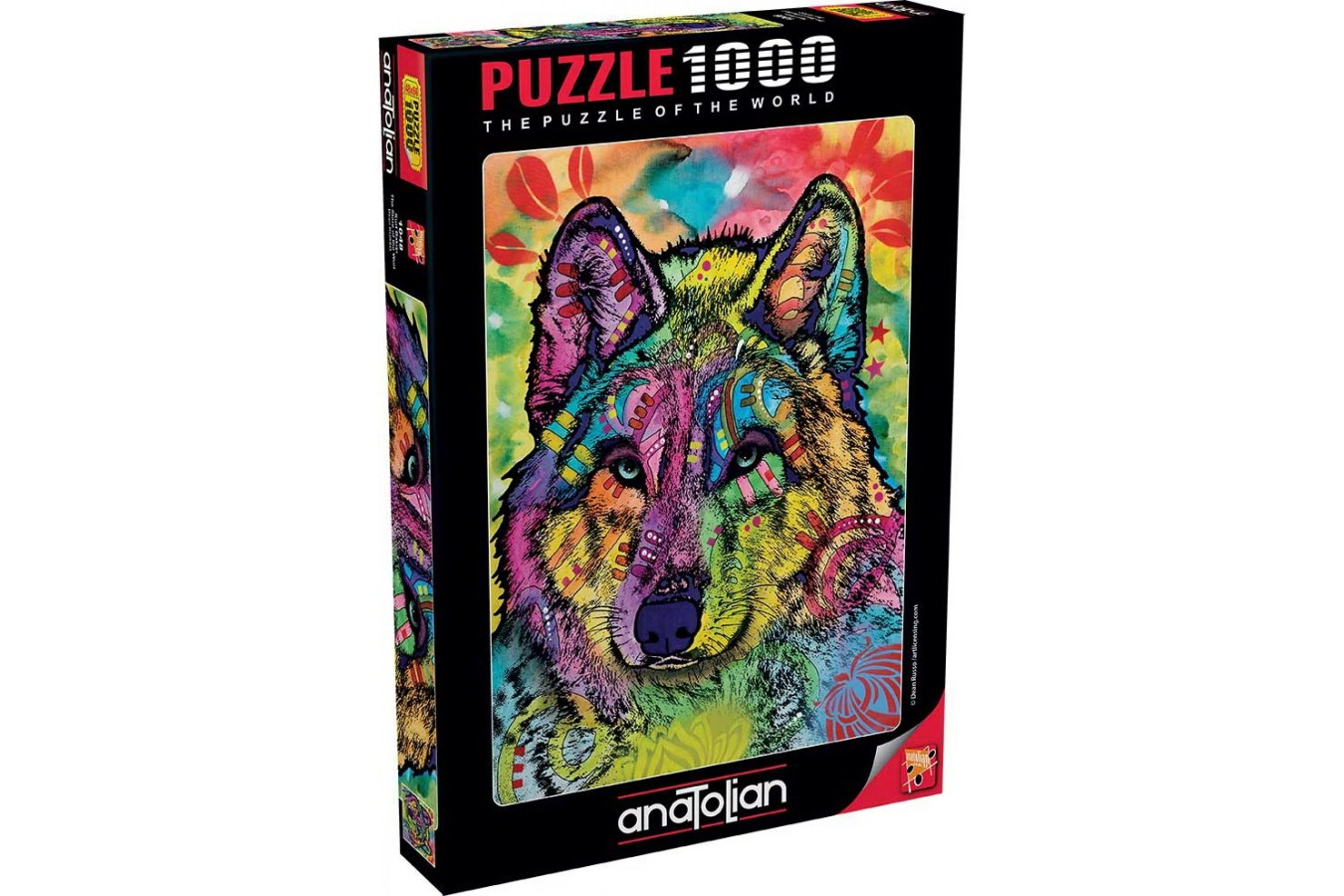 Puzzle Anatolian - The Stare Of The Wolf, 1000 piese (1048)
