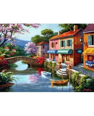 Puzzle Anatolian - Quaint Village Shops, 1000 piese (1053)