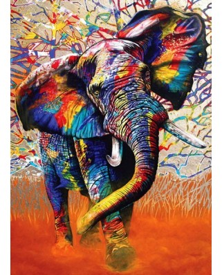 Puzzle Anatolian - African Colours, 1000 piese (1054)