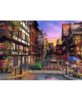Puzzle Anatolian - Colmar Street, 1000 piese (1055)