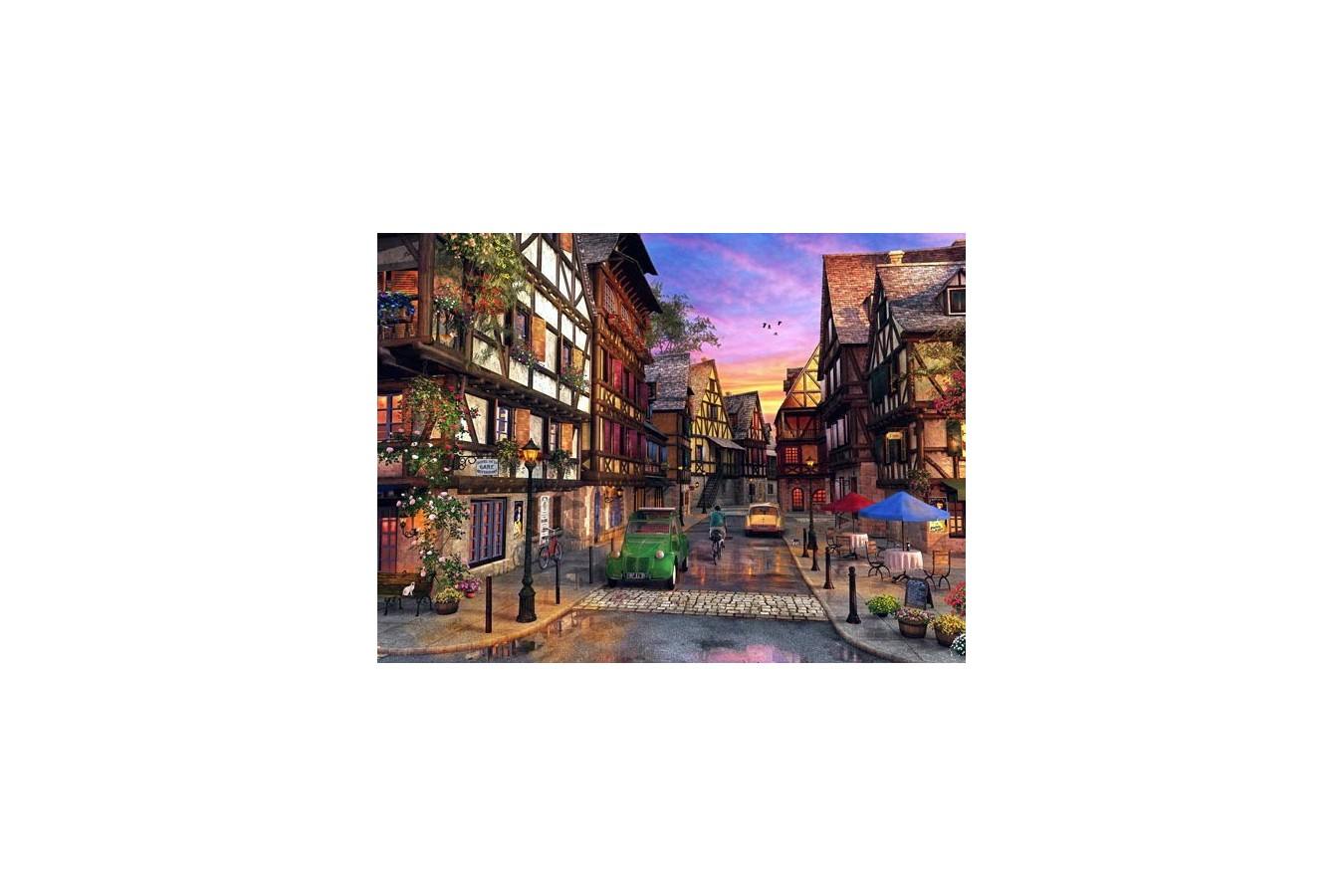 Puzzle Anatolian - Colmar Street, 1000 piese (1055)
