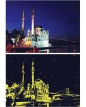 Puzzle Anatolian - Ortakoy Mosque, 1000 piese, fosforescent (1904)