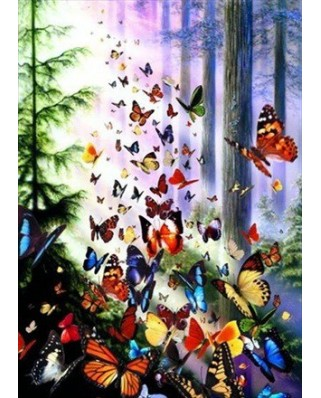 Puzzle Anatolian - Butterfly Woods, 1000 piese (3069)