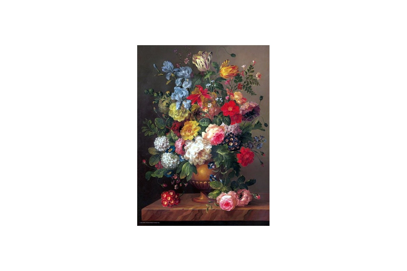 Puzzle Anatolian - Classic Bouquet, 1000 piese (3088)