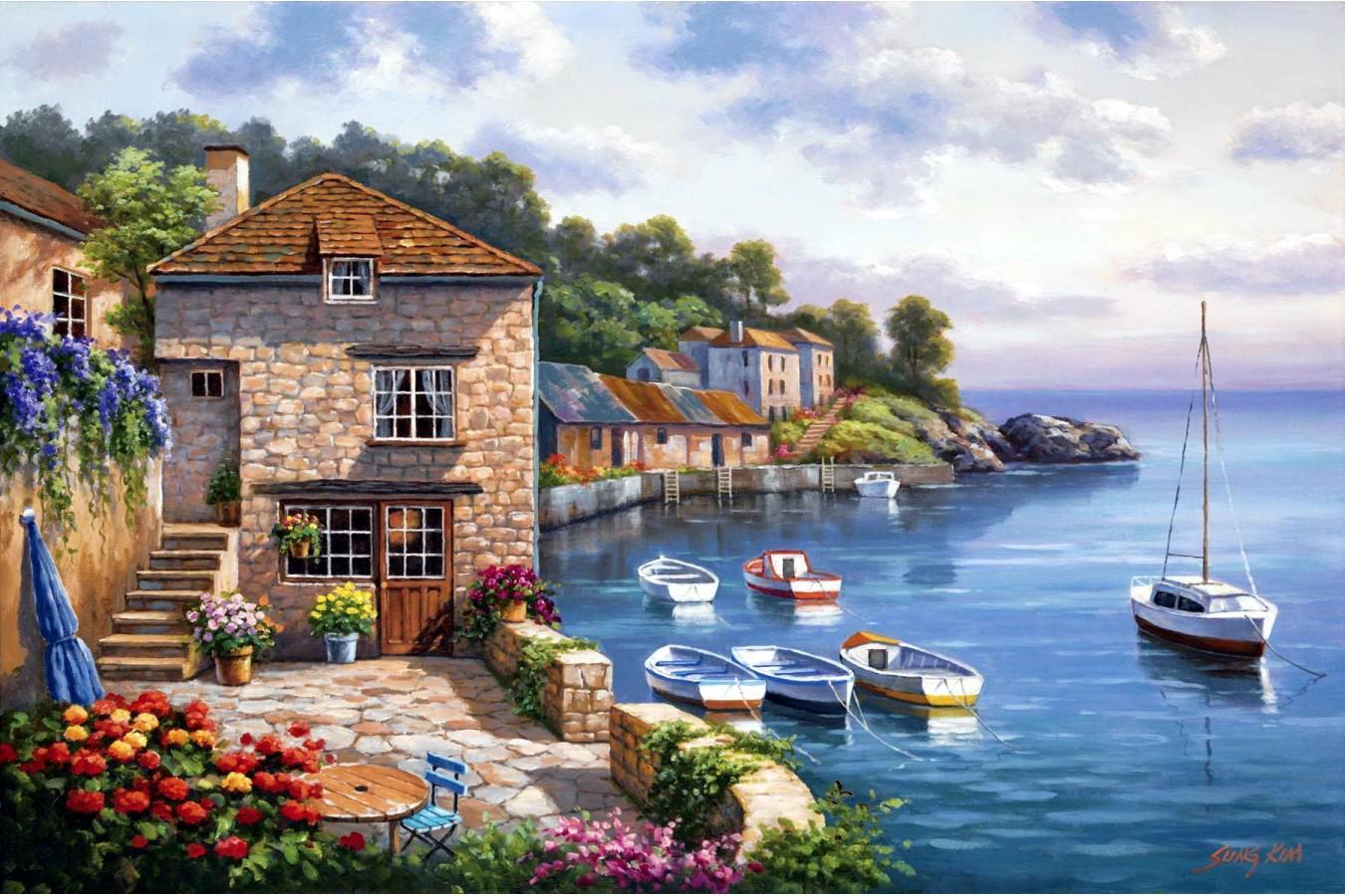 Puzzle Anatolian - Harbor Garden, 1000 piese (3117)