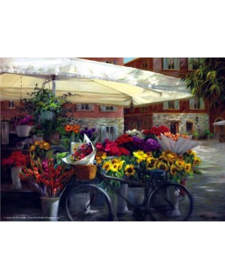 Puzzle Anatolian - Spring In The Basket, 1000 piese (3133)