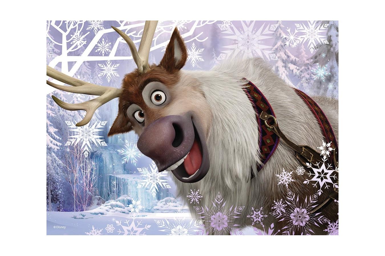 Puzzle Ravensburger - Frozen, 12/16/20/24 piese (07360)