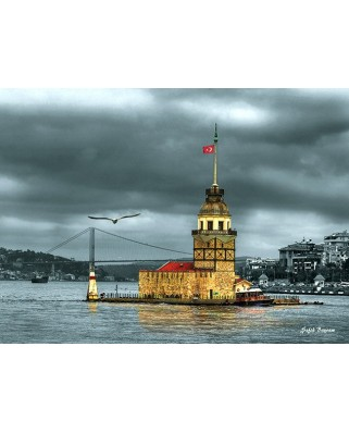 Puzzle Anatolian - Kiz Kulesi Nostalji, 1000 piese (3167)