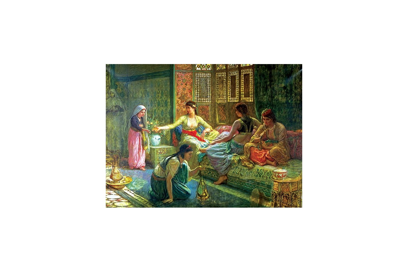 Puzzle Anatolian - Interior of a Harem, 1000 piese (3168)