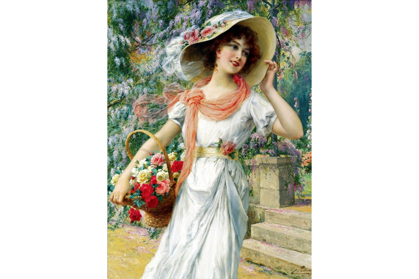 Puzzle Anatolian - The Flower Girl, 1000 piese (3170)