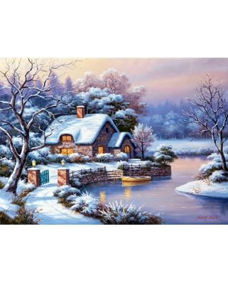Puzzle Anatolian - Winter Evening, 1000 piese (3181)