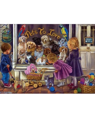 Puzzle Anatolian - Pets to Love, 1000 piese (3186)