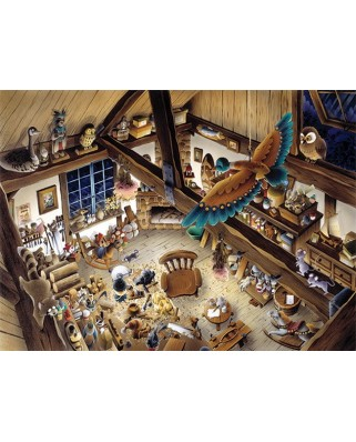 Puzzle Anatolian - Wooden Workshop, 1000 piese (3188)