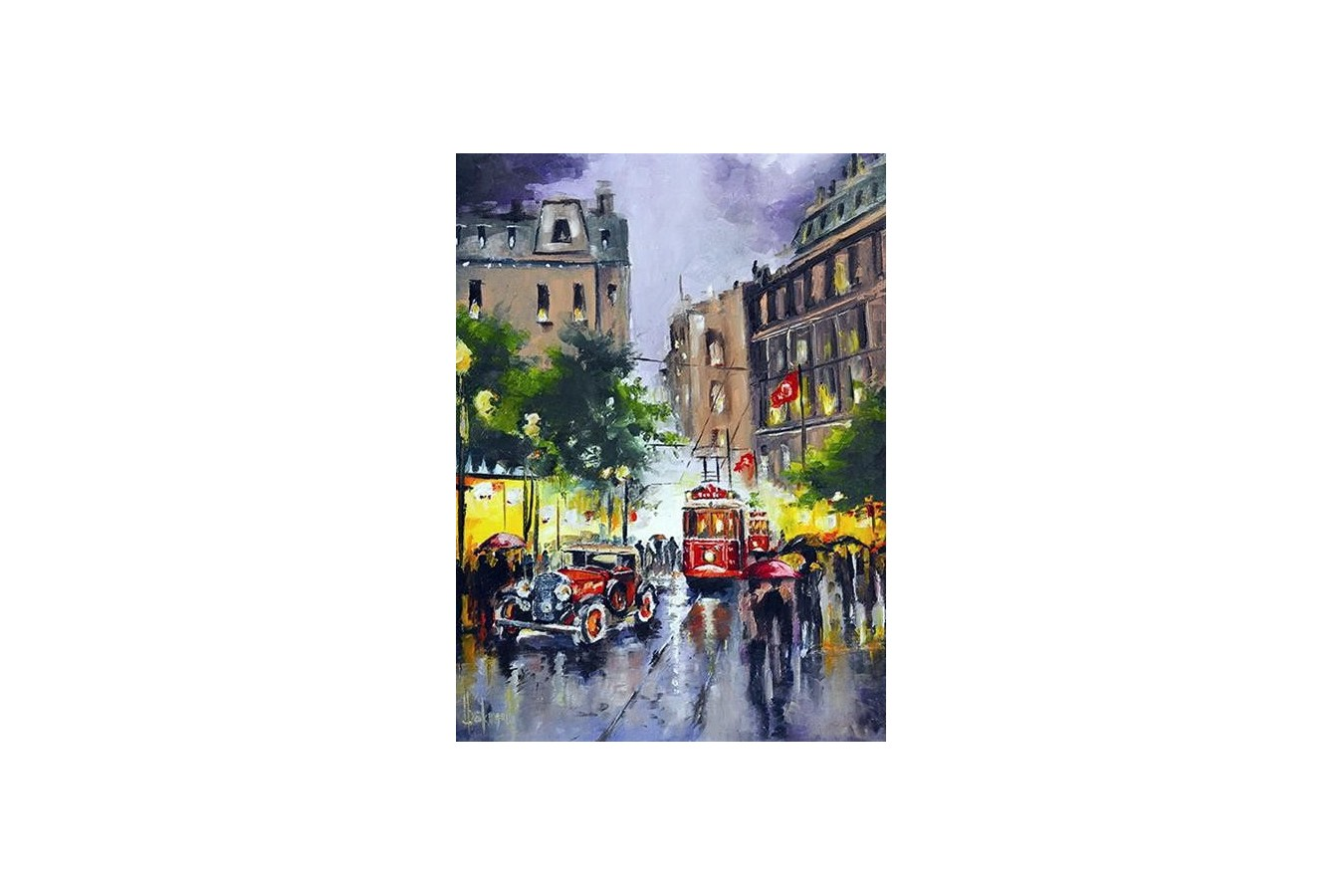 Puzzle Anatolian - Istiklal Street, Istanbul, 1000 piese (3189)