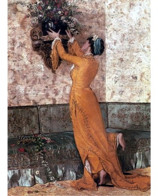 Puzzle Anatolian - The Girl with Vase, 1000 piese (8020)