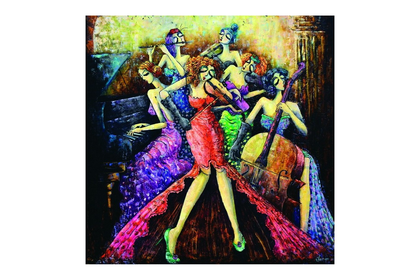 Puzzle Anatolian - Ladies Orchestra, 1024 piese (1014)