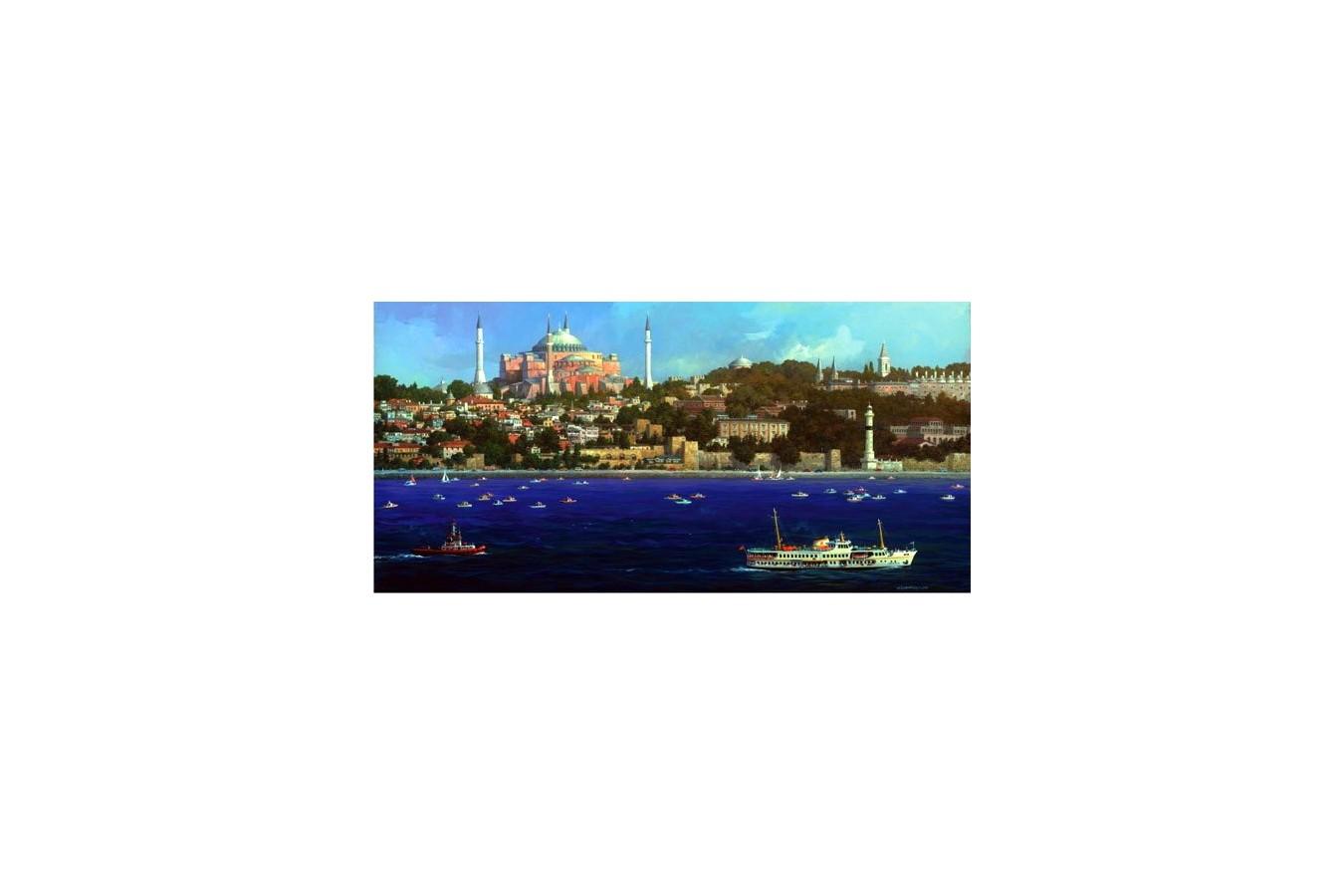 Puzzle Anatolian - Ayasofya, 1500 piese, panoramic (3768)