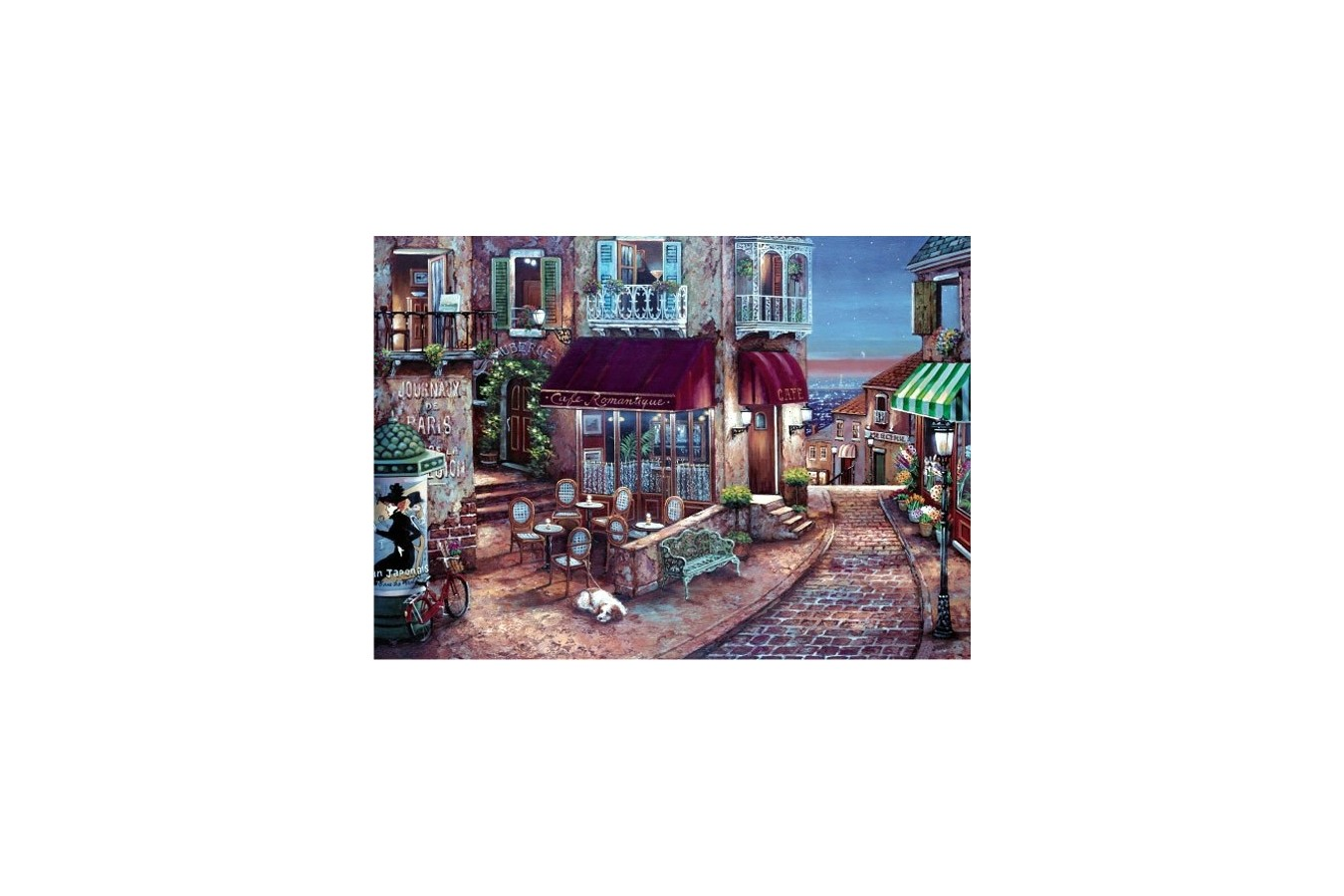 Puzzle Anatolian - Cafe Romantique, 1500 piese (4516)
