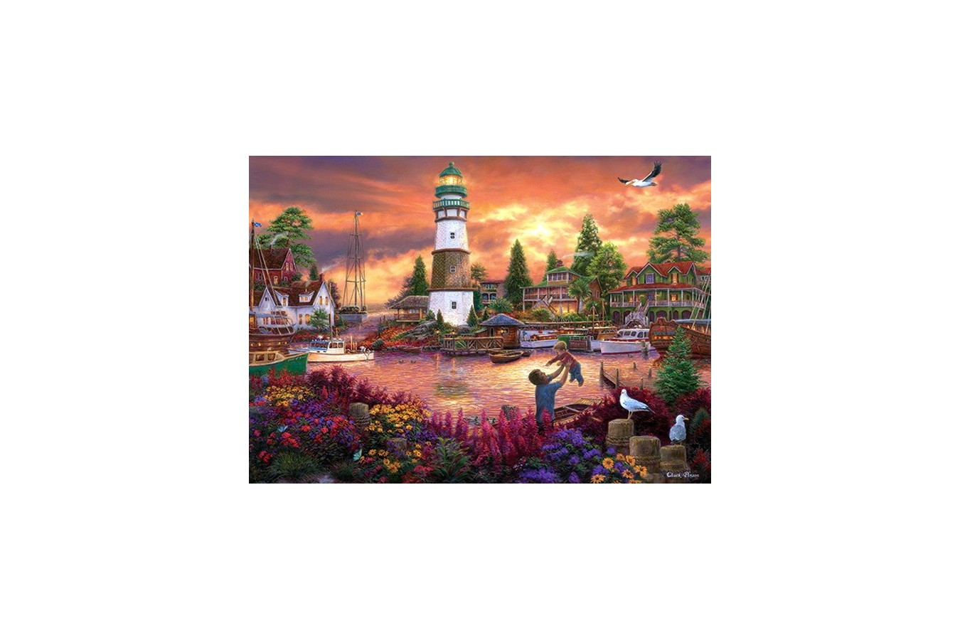 Puzzle Anatolian - Love Lifted Me, 1500 piese (4525)