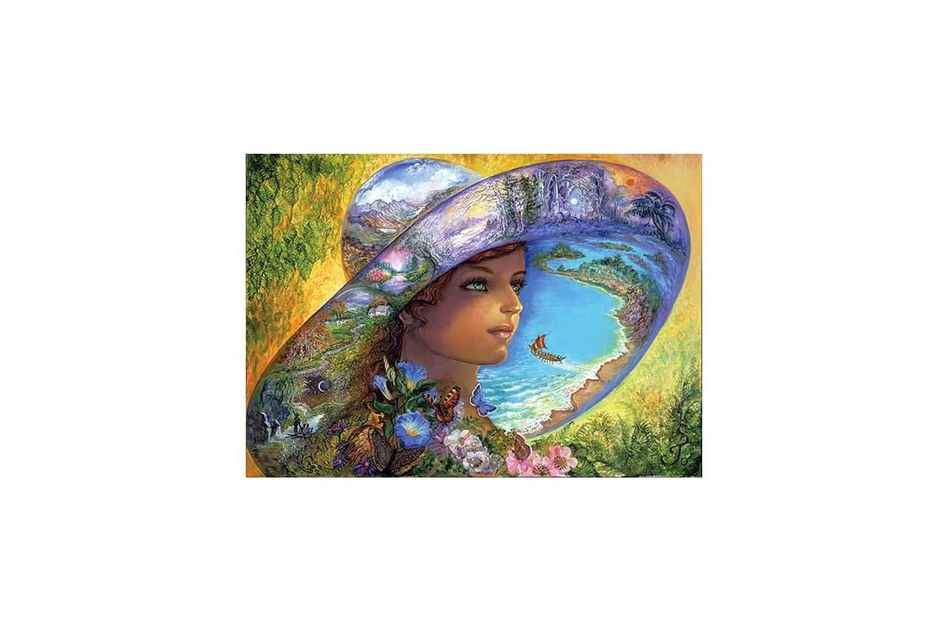 Puzzle Anatolian - Hat of Timeless Places, 1500 piese (4527)