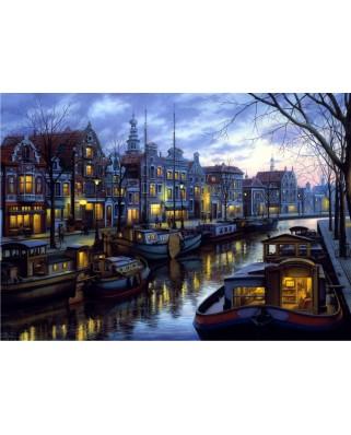 Puzzle Anatolian - Canal Life, 1500 piese (4537)