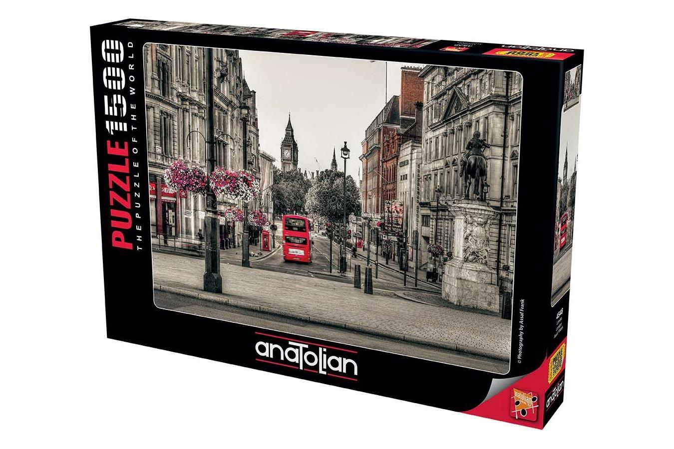 Puzzle Anatolian - London, 1500 piese (4548)