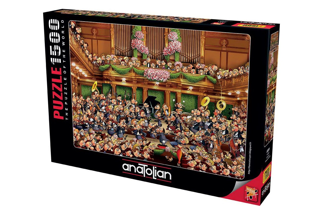 Puzzle Anatolian - Concert, 1500 piese (4551)