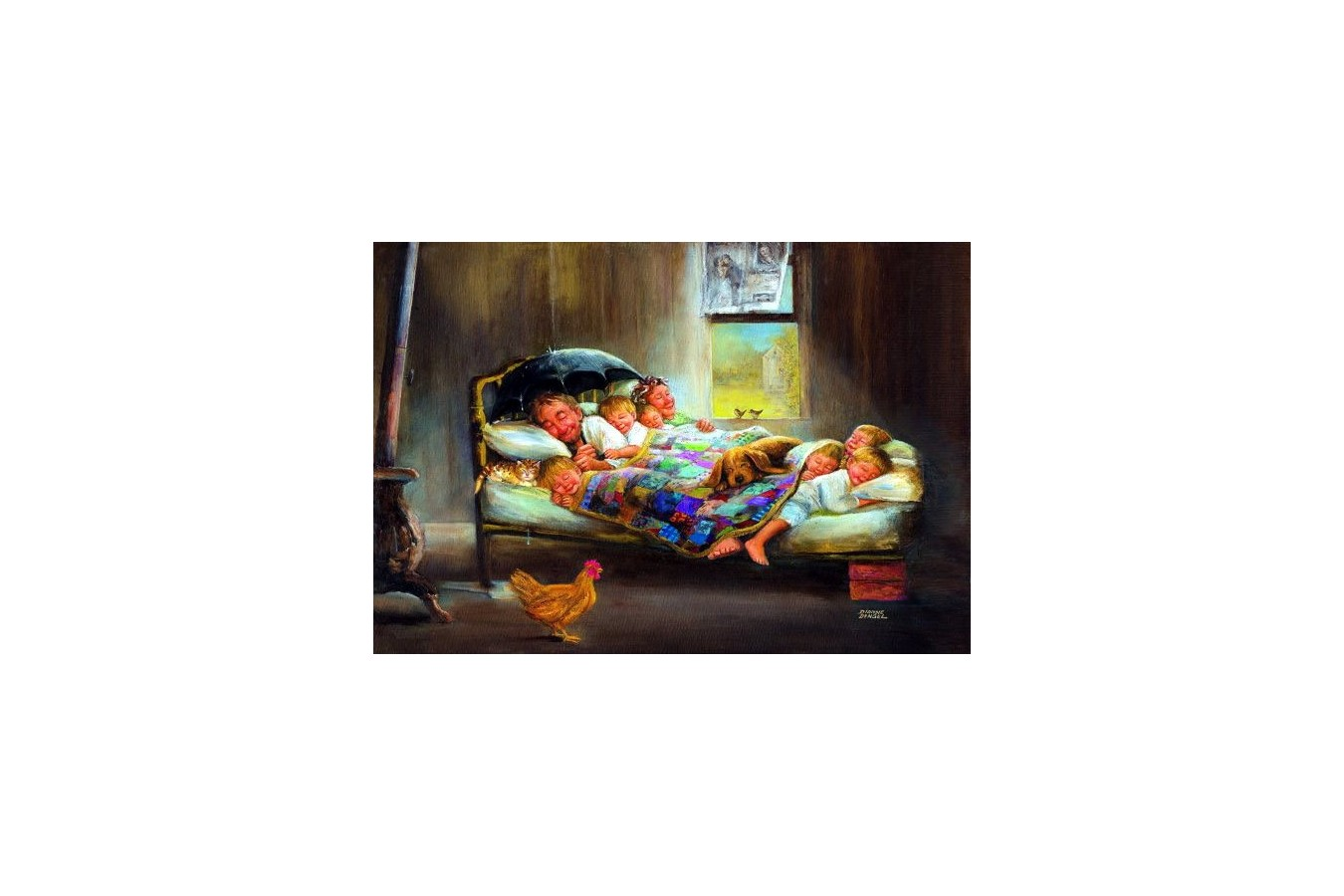Puzzle Anatolian - Home Sweet Home, 2000 piese (3900)