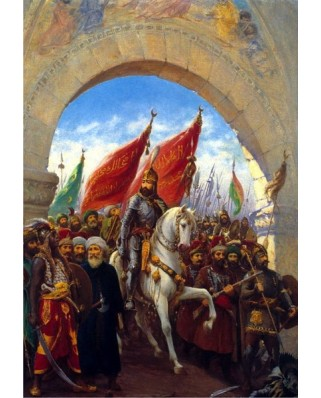 Puzzle Anatolian - Entering to Constantinople, 2000 piese (3921)