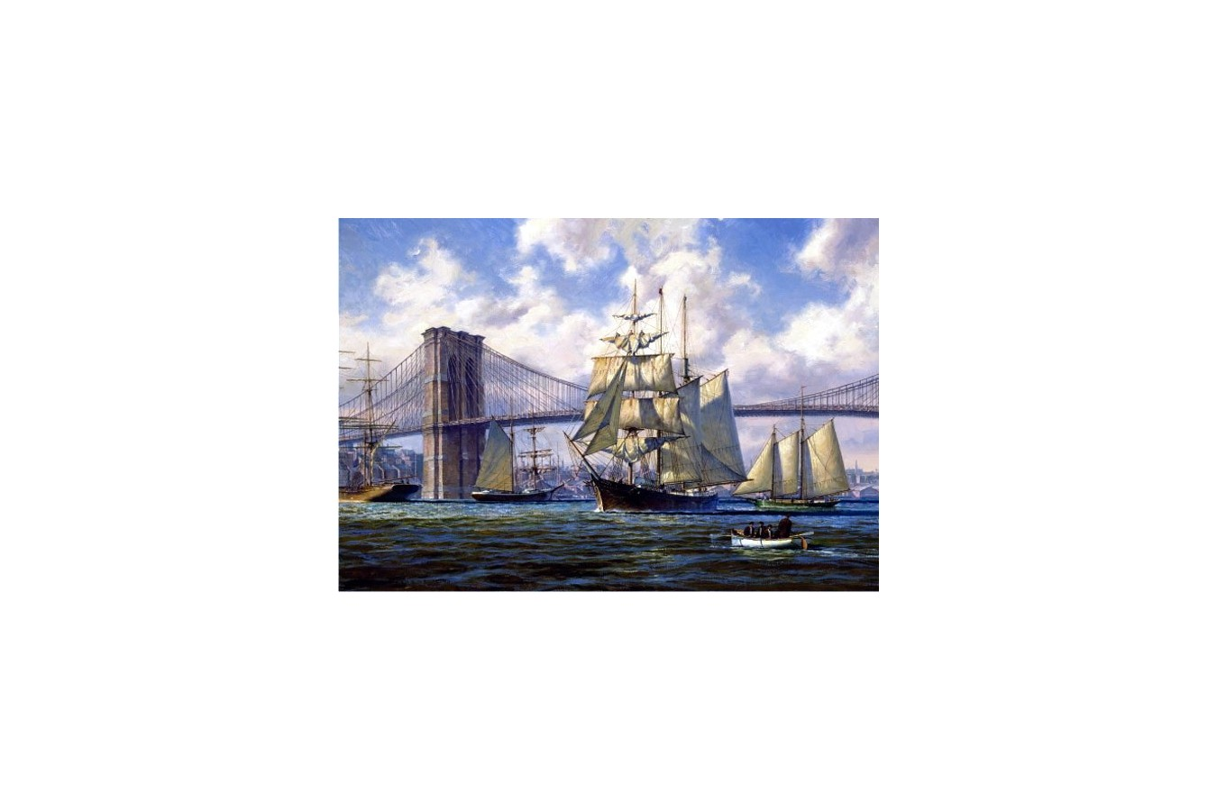 Puzzle Anatolian - Violette Passing Brooklyn, 2000 piese (3923)