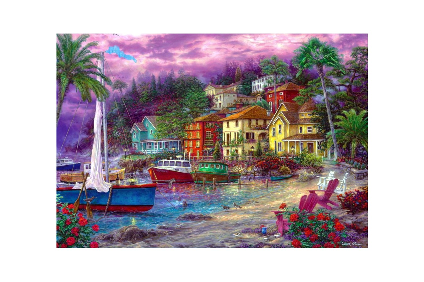Puzzle Anatolian - On Golden Shores, 2000 piese (3929)