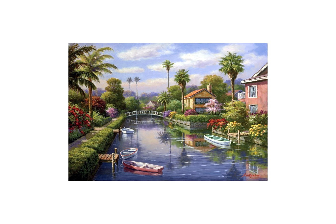 Puzzle Anatolian - Private Docks I, 2000 piese (3931)