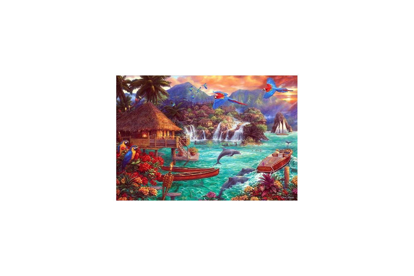 Puzzle Anatolian - Island Life, 2000 piese (3939)