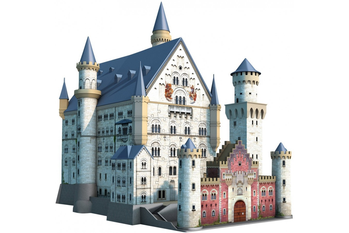 Puzzle 3D Ravensburger - Castelul Neuschwanstein, 216 piese (12573)