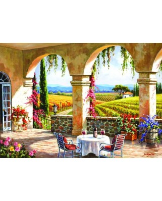 Puzzle Anatolian - Wine Country Terrace, 1500 piese (4523)