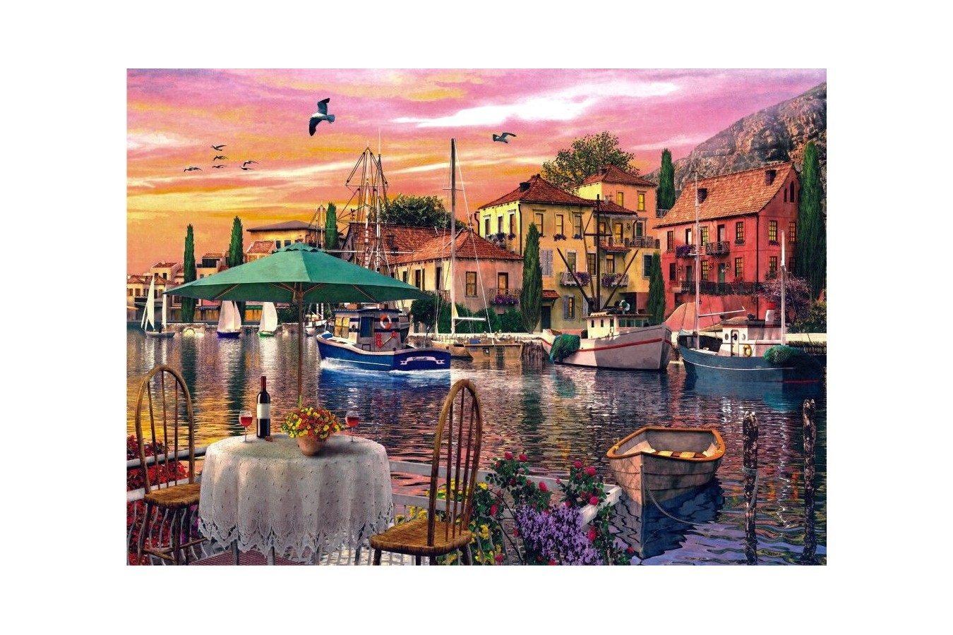 Puzzle Anatolian - Sunset Harbour, 3000 piese (4905)